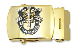 Special Forces Unit Crest Belt Buckle - Sta-Brite Insignia INC.