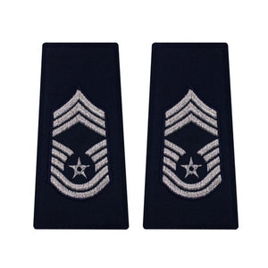 US Air Force Chief Master Sergeant Epaulets - Sta-Brite Insignia INC.