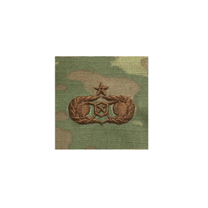 US Air Force Civil Engineer Readiness Senior OCP Spice Brown Sew On - Sta-Brite Insignia INC.