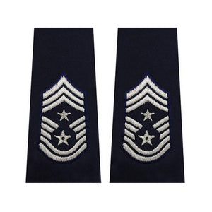US Air Force Command Chief Master Sergeant Epaulets - Sta-Brite Insignia INC.