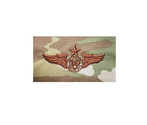 US Air Force Enlisted Aircrew Senior OCP Spice Brown Badge - Sta-Brite Insignia INC.