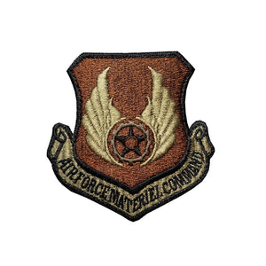 US Air Force Materiel Command OCP Scorpion Spice Brown Patch with Hook Fastener - Sta-Brite Insignia INC.