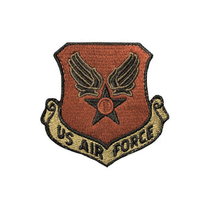 US Air Force Wing And Star OCP Scorpion Spice Brown Patch with Hook Fastener - Sta-Brite Insignia INC.
