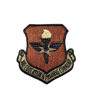 US Air Force Air Education & Training OCP Scorpion Spice Brown Patch with Hook Fastener - Sta-Brite Insignia INC.