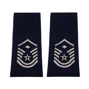 US Air Force Master Sergeant With Diamond Epaulets - Sta-Brite Insignia INC.