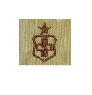 US Air Force Medical technician Senior OCP Spice Brown Badge - Sta-Brite Insignia INC.