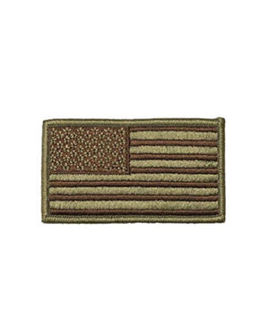U.S. Air Force OCP Spice Brown U.S. Flag With Hook Fastener - Sta-Brite Insignia INC.