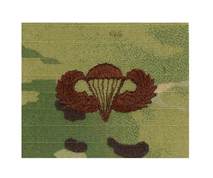 US Air Force Parachutist Basic OCP Spice Brown Sew-on Badge - Sta-Brite Insignia INC.