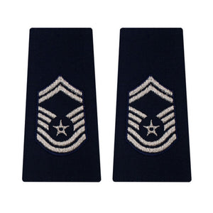 US Air Force Senior Master Sergeant Epaulets - Sta-Brite Insignia INC.
