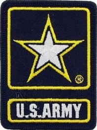 US Army U.S. Army Star Logo (Army of 1) Color Sew-on Patch - Sta-Brite Insignia INC.