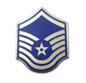 US Air Force E7 Master Sergeant STA-BRITE® Pin-on - Sta-Brite Insignia INC.
