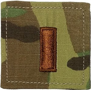 US Air Force O1 2nd Lieutenant OCP Spice Brown with Hook Fastener - Sta-Brite Insignia INC.