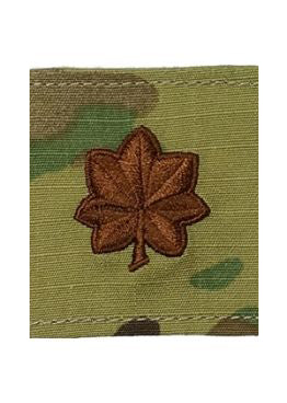 US Air Force O4 Major OCP Spice Brown Gore-Tex® Loop Rank - Sta-Brite Insignia INC.