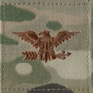 US Air Force O6 Colonel OCP Spice Brown with Hook Fastener - Sta-Brite Insignia INC.