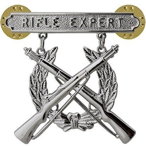 US Marine Corps Rifle Expert Badge - Sta-Brite Insignia INC.