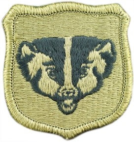 US Army Wisconsin National Guard OCP Patch with Hook Fastener (pair) - Sta-Brite Insignia INC.