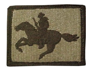 US Army Wyoming National Guard OCP Patch with Hook Fastener (pair) - Sta-Brite Insignia INC.