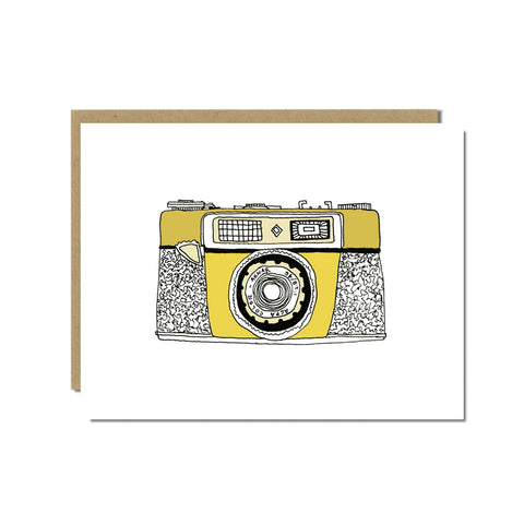 Agfa Optima Camera Greeting Card
