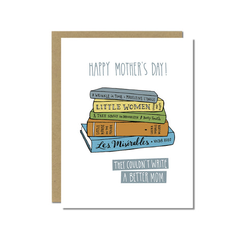 Mother's Day Card for Book Lover