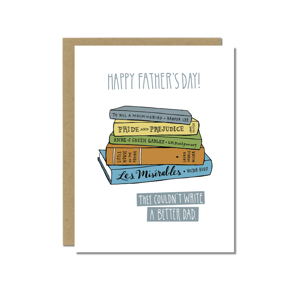 Father's Day Card for Book Lover