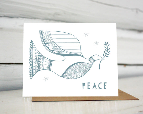 Peace Dove Holiday Card — Boxed Sets or Singles