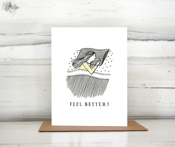 Feel Better Get Well Greeting Card