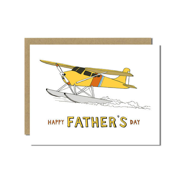 Seaplane Father's Day Card