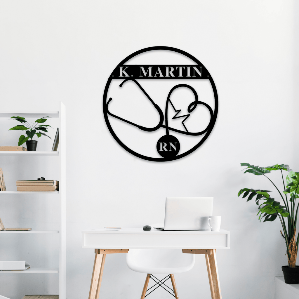 Nurse Personalized Monogram