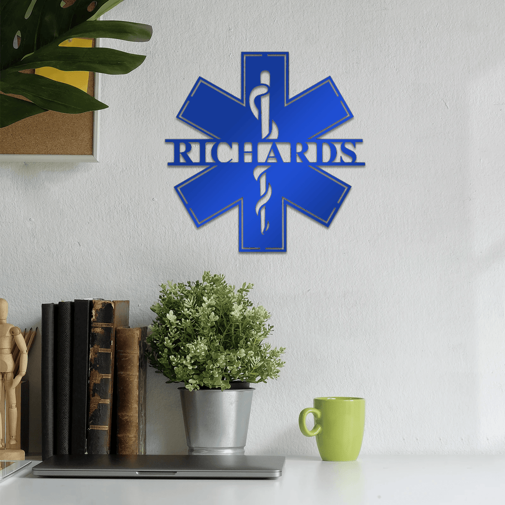 Personalized EMT Sign
