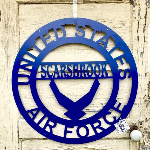 Personalized US Airforce Monogram