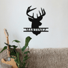 Deer Head Sign