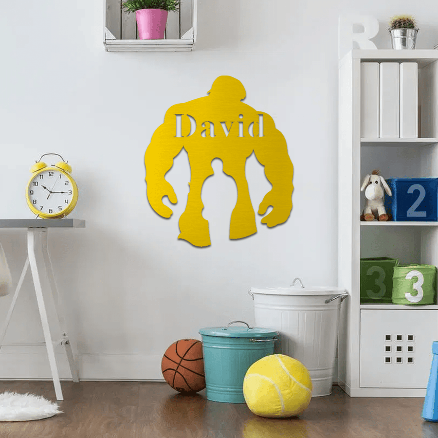 Hulk Nursery Sign