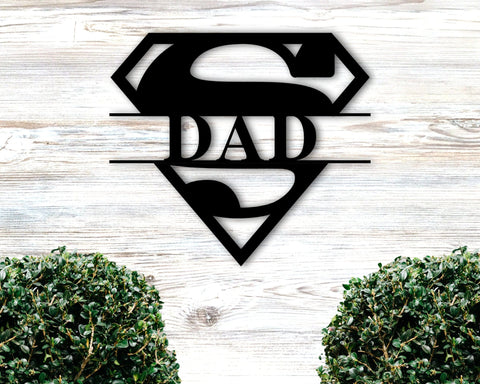 Super Dad Monogram