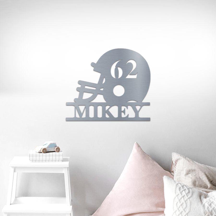 Nursery Helmet Sign