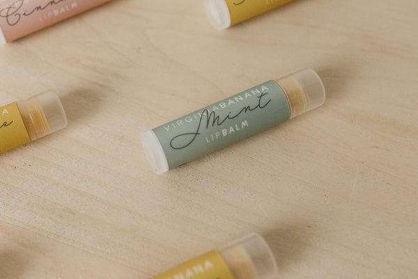 Winter Lip Balm Trio - Mint//Chocolate//Tangerine