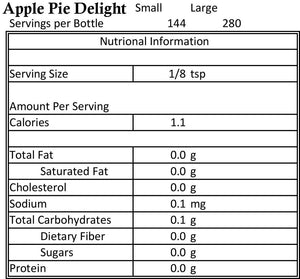 Apple Pie Delight 1.8oz