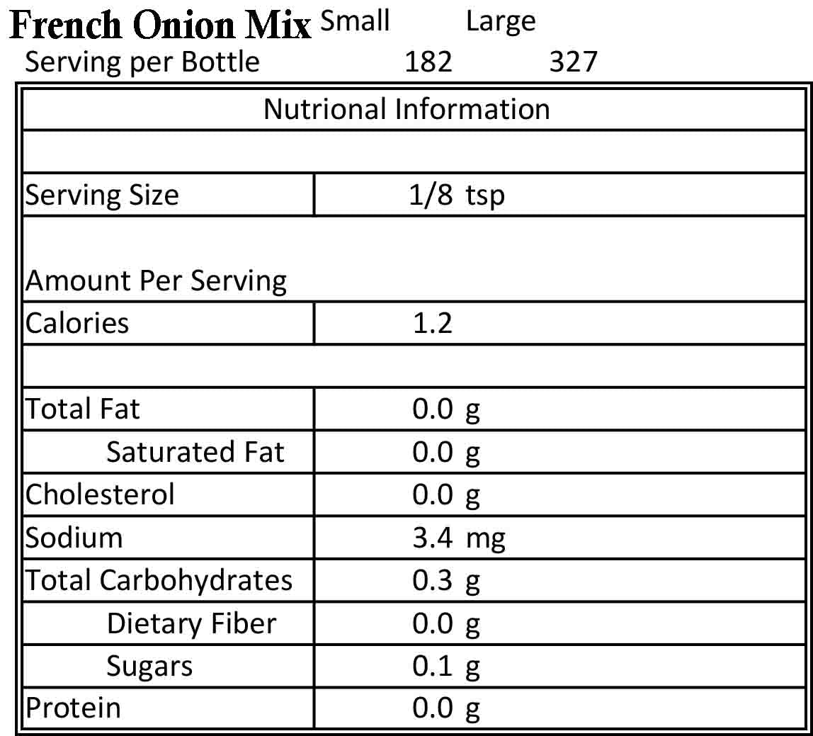 French Onion Mix 4.5oz