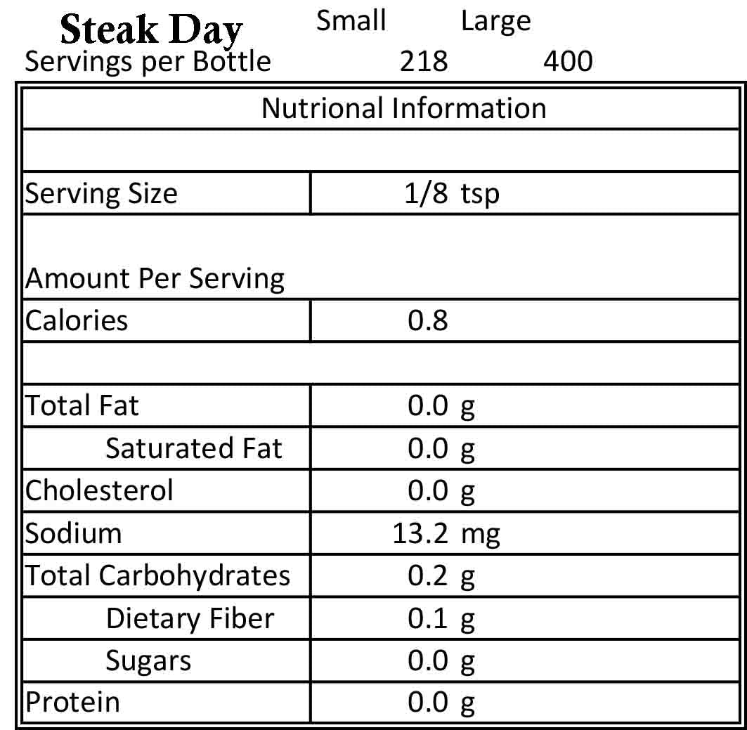 STEAK DAY SMALL