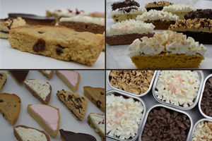 keto, mini cakes and dessert bars, low carb, sugar free, ketogenic