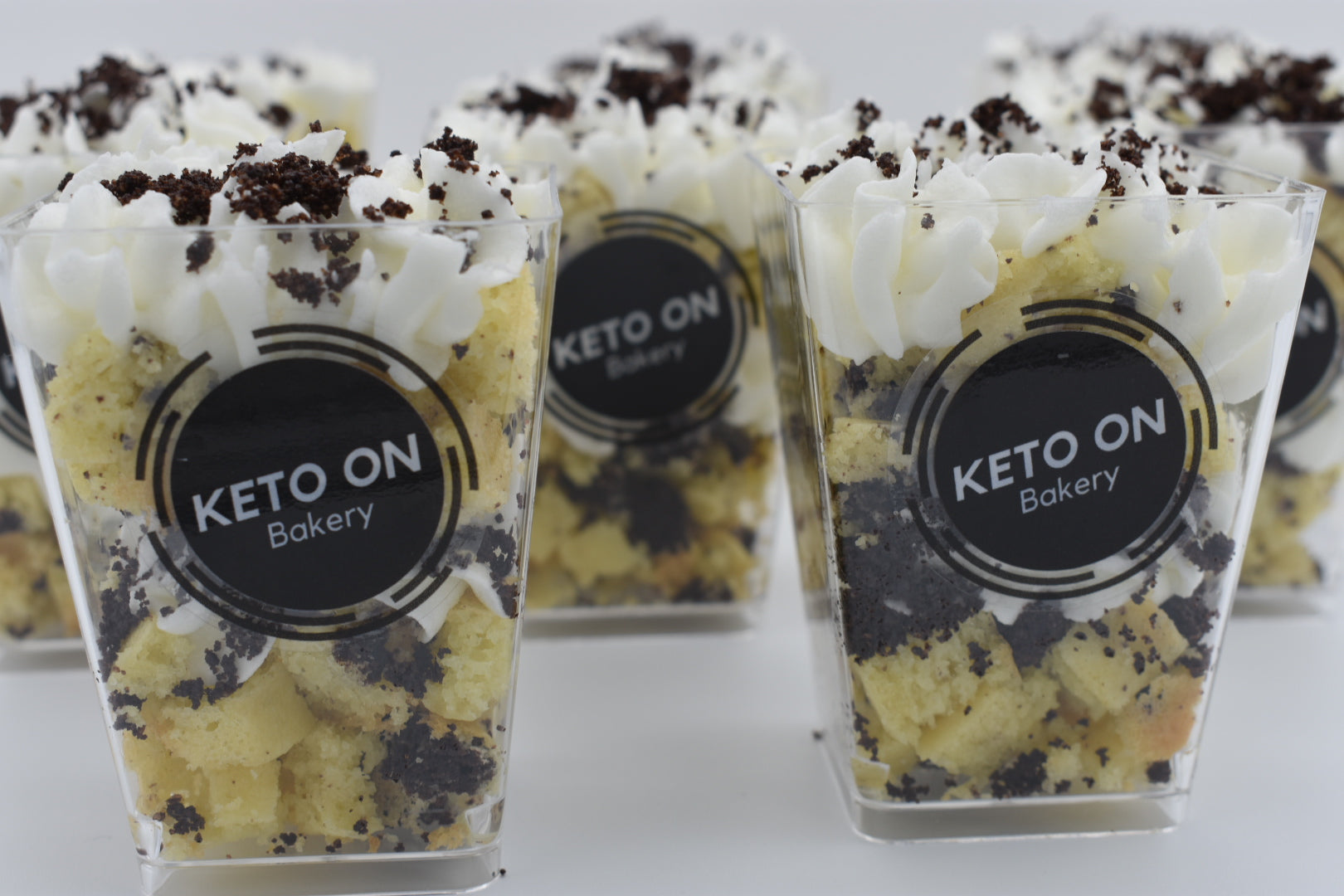 Keto Cake Cups, low carb, sugar free, ketogenic