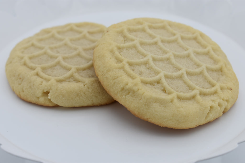 Keto Shortbread Cookies, low carb, sugar free, ketogenic