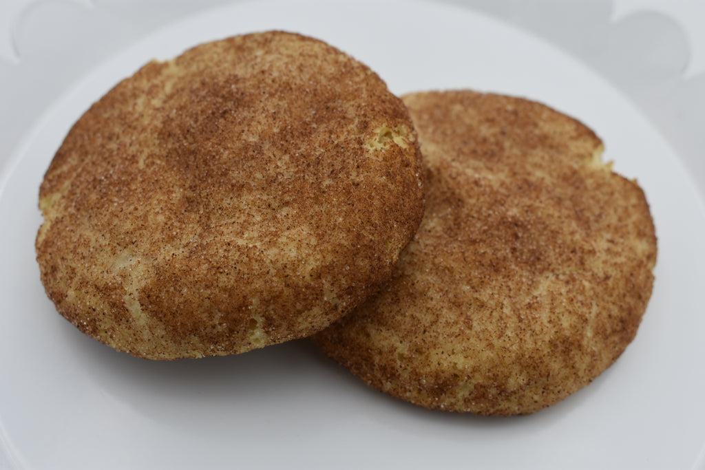 Keto Snickerdoodle Cookies, low carb, sugar free, ketogenic