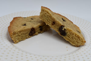 Keto Mini Dessert Bar, Chocolate Chip Blondie, low carb, sugar free, ketogenic