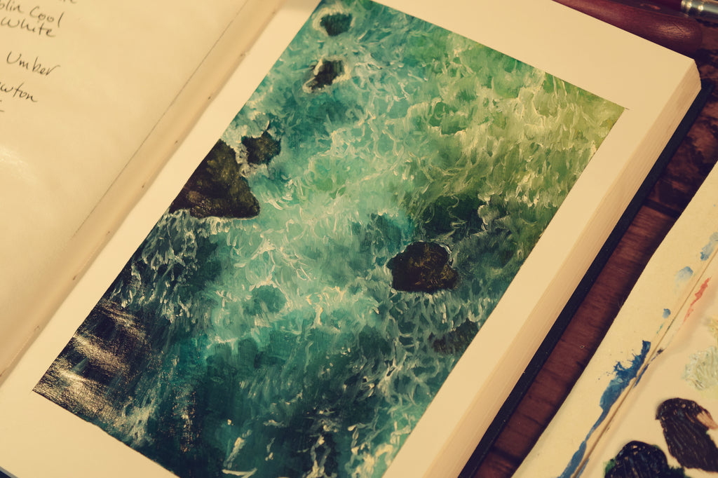 Oil Book 3 | Painting Waves and Tips for Painting Water