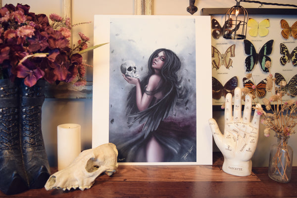 11x14 Print - Call of the Morrighan