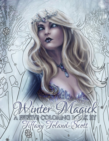 Winter Magick Coloring Book