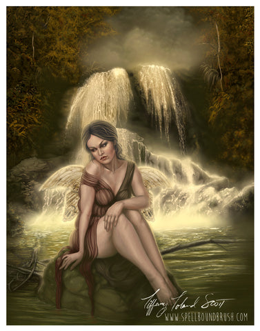 "11x14 Print ""Lady of the Falls"""