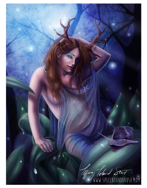 "11x14 Print ""Queen of the Wood"""