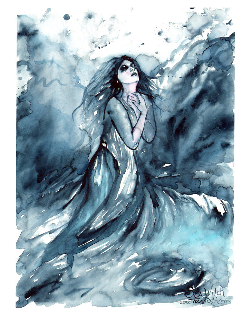 "11x14 Print ""Sea Witch"""