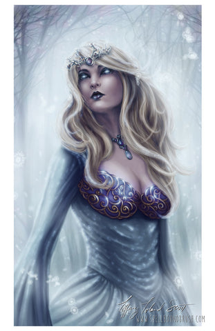 11x17 Print - Winter Queen